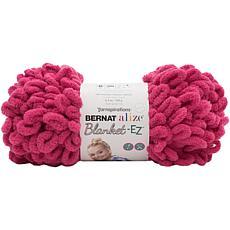 Bernat Alize Blanket-EZ Yarn - Bright Pink