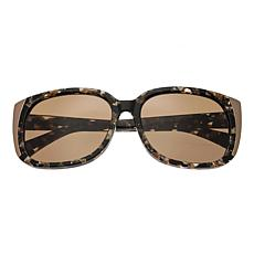 Bertha Natalia Polarized Sunglasses with Multi Frame and Brown Lenses