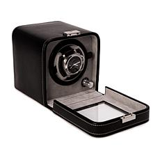 Bey-Berk Black Leather Single Watch Winder