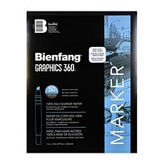 Bienfang Graphics 360 100% Rag Translucent Marker Paper 11x14 50-Pack