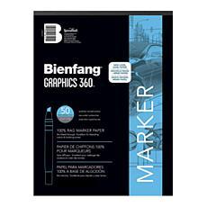 Bienfang Graphics 360 100% Rag Translucent Marker Paper 14x17 50-Pack