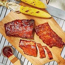 Big Shoulders 3 lbs. of BBQ Bone-in Baby Back Pork Ribs in Sauce