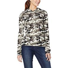 Billy T Chill With Me Camo-Print Hooded Sweatshirt