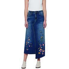 Billy T Denim Blossom Skirt
