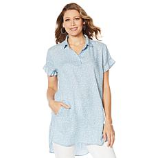 Billy T Summer Love Linen Tunic Dress