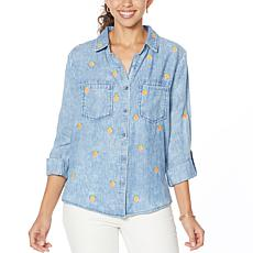 Billy T Sunkissed Embroidered Buttoned Shirt