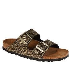 Birkenstock Arizona Shiny Python Comfort Sandal