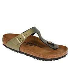 Birkenstock Gizeh Icy Metallic Thong Sandal