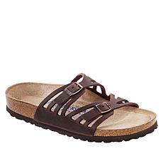 Birkenstock Granada Oiled Leather Comfort Sandal