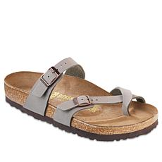 Birkenstock Mayari Toe-Loop Comfort Sandal - Stone