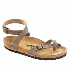 Birkenstock Yara Oiled Leather Toe Ring Sandal