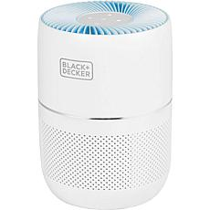 Black + Decker Tabletop 3-Stage Air Purifier with Indicator Light