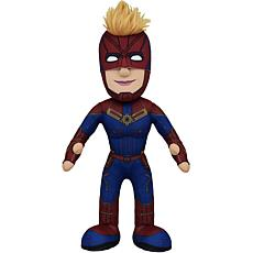 "Bleacher Creatures Marvel Captain Marvel 10"" Plush Figure"