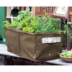 "BloemBagz 12-Gallon Raised Bed Planter Bag - 23-1/2"""