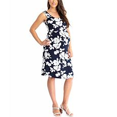 Blooming Women Maternity Bodycon Nursing Dress