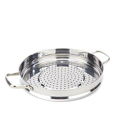 "Blue Diamond® Elite Stainless Healthy Cooking 12"" Steamer"