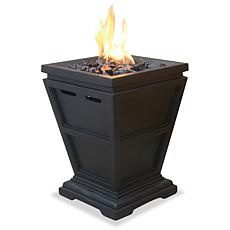 Blue Rhino Uniflame Oil Rubbed Hexagon Shaped Lattice Pattern Fire Pit