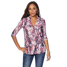 Bo&Nic Mandarin Elbow Sleeve Top