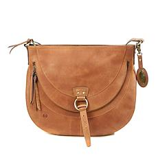 Born® Arkham Leather Distressed Crossbody