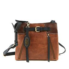 Born® Basin Leather Distressed Crossbody