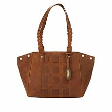 Born® Chambord Distressed Leather Tote