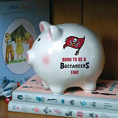 Born to be a Tampa Bay Buccaneers Fan Piggy Bank
