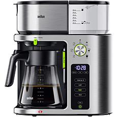 Braun MultiServe 10-Cup SCA Stainless Steel Coffee Maker