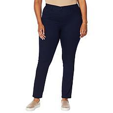 "Brittany Humble ""Humble Huggers"" Pull-On Denim Jean"