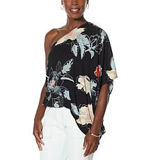 Brittany  Humble One-Shoulder Drape Top