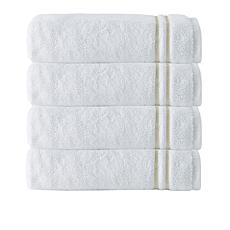 Broderie 100% Turkish Cotton 4-piece Hand Towel Set