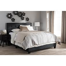 Brookfield Charcoal Fabric Bed