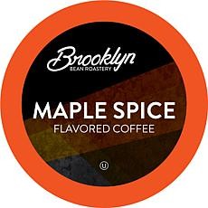Brooklyn Bean Maple Flavored Coffee Pods - Maple Spice, 40-Count