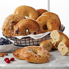 Brooklyn Food Group (24) 4 oz. Fall Kettle Boiled Bagels