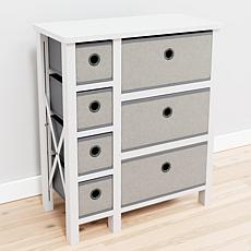 Brookside Seven Drawer Fabric Storage Chest