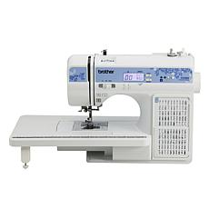 Brother 150-stitch Computerized Sewing Machine with Table and DVD