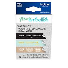 Brother P-Touch Embellish 3-pack Washi Tape