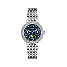 Bulova Ladies' Diamond-Accent Glitter Dial Chronograph