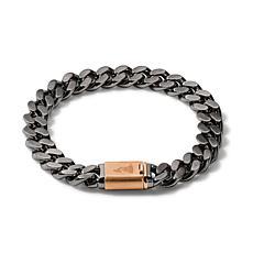 "Bulova Latin GRAMMY Men's Chain-Link Bracelet - 8"""