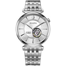 Bulova Men's Automatic Slim Stainless Steel Watch