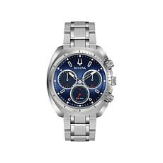 Bulova Men's CURV Chronograph Stainless Steel Watch