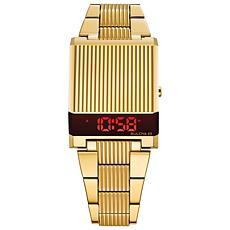 Bulova Men's Gold-Tone Computron Digital Watch