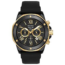 Bulova Men's Marine Star Two Tone Chronograph Watch