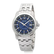Bulova Men's Precisionist Blue Dial Bracelet Watch