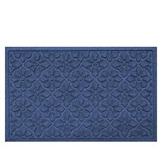 Bungalow Aqua Shield Medallion Doormat