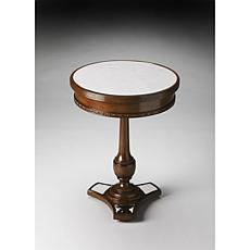 Butler Specialty Adele Mirror and Mahogany Accent Table