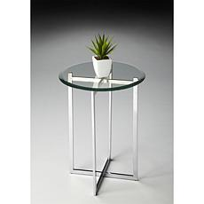 Butler Specialty Anzhela Nickel Plated Accent Table