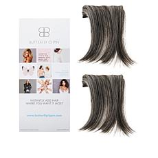 """Butterfly Clip-In 5""""-6"""" Middle Part Volumizing Set"""