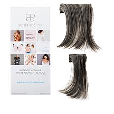 """Butterfly Clip-In 5""""-6"""" Side Part Volumizing Set"""