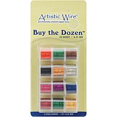 Buy The Dozen Colored Copper Wire - 26 Gauge