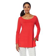 Bzees Active Audrey Bell-Sleeve Top with SPF 40